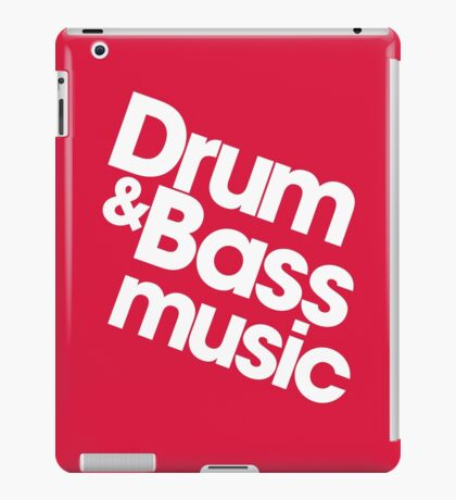 Drum & Bass iPad Case/Skin