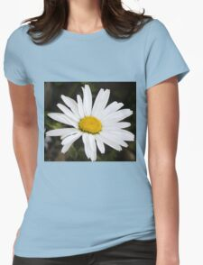 Chamomiles in the garden 12 Womens Fitted T-Shirt