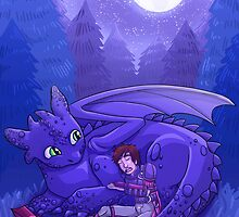 How to Train Your Dragon - Sleepy Time by beffles