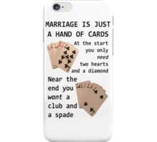 Hearts, Diamonds, Spades and Clubs iPhone Case/Skin