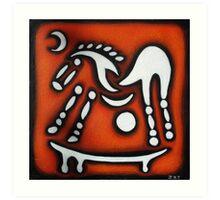 Celtic Horse Art Print