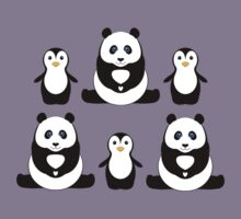 PANDAS & PENGUINS Kids Clothes