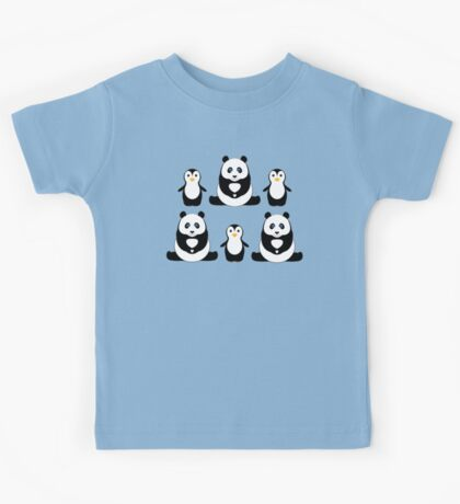 PANDAS & PENGUINS Kids Tee