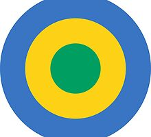 Roundel of the Gabon Air Force by abbeyz71