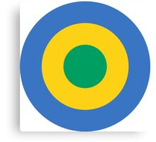 Roundel of the Gabon Air Force Canvas Print