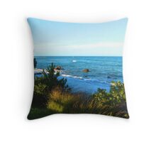 A view to the sea Throw Pillow