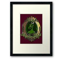 The Lusty Argonian Maid Framed Print
