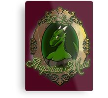 The Lusty Argonian Maid Metal Print