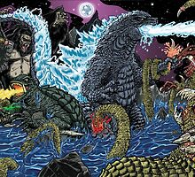 Battle for The Skulled Shape Island by fbwash70
