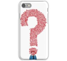 Question Boy iPhone Case/Skin