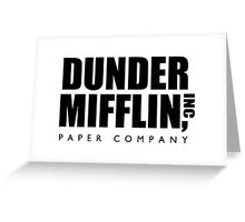 Dunder Mifflin, Inc Paper Company Greeting Card