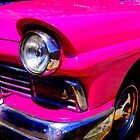 Hot Pink in Cuba :) by Honor Kyne