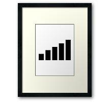 Mobile reception Framed Print