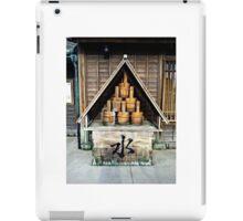 Japanese Edo Firefighting Buckets iPad Case/Skin