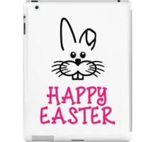 Happy easter Bunny iPad Case/Skin