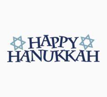 Happy Hanukkah One Piece - Short Sleeve