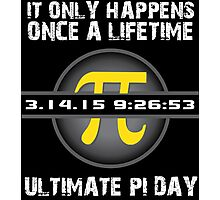 '2015 Ultimate Pi Day Gold Collector's Edition' T-Shirts, Hoodies, Accessories and Gifts Photographic Print