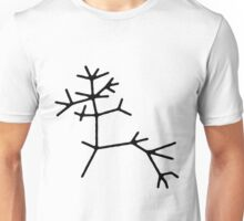 "Charles Darwin's ""I think"" tree of life Unisex T-Shirt"
