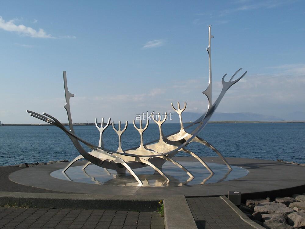 Viking Boat Reykjavik, Iceland by atkinnt