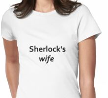 Sherlock's wife Womens Fitted T-Shirt
