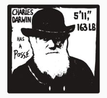 Charles Darwin Has A Posse Kids Clothes