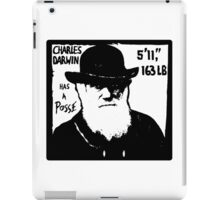 Charles Darwin Has A Posse iPad Case/Skin