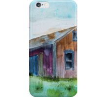 Old Wood Reflections iPhone Case/Skin