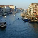 Grand canal in Venice by chord0
