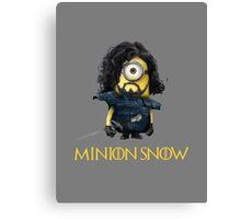 Minion Jon Snow Canvas Print