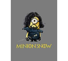Minion Jon Snow Photographic Print