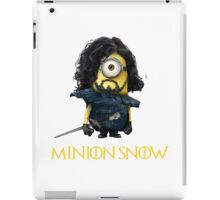 Minion Jon Snow iPad Case/Skin