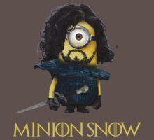 Minion Jon Snow by minionsfanboy