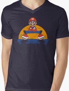 Plumber Split Mens V-Neck T-Shirt