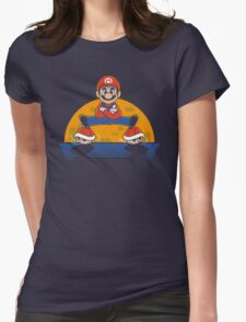 Plumber Split Womens Fitted T-Shirt