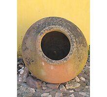 Ceramic Pot Photographic Print