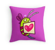 Bee Loved Throw Pillow
