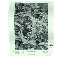 Maine USGS Historical Map Andover 806457 1977 24000 Poster