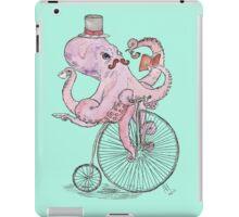 Octopus Hipster iPad Case/Skin
