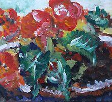 Begonias by decorartuk