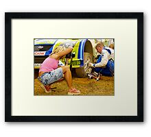 Centre of Attention Framed Print