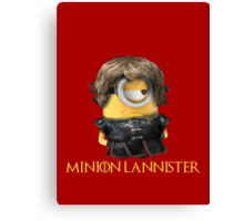 Minion Lannister Canvas Print