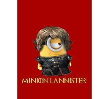Minion Lannister Photographic Print