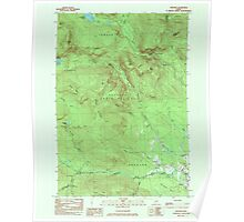 Maine USGS Historical Map Andover 807758 1984 24000 Poster