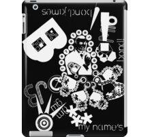 JamesBond as SeanConnery forever (black version) iPad Case/Skin