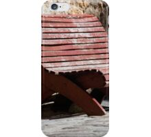 Bench Shadow iPhone Case/Skin