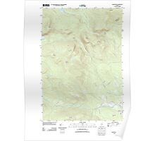 Maine USGS Historical Map Andover 20110829 TM Poster