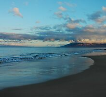 Maui Dawn Reflections by Stephen Vecchiotti