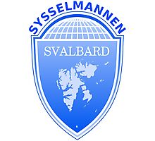 Coat of Arms of Svalbard  Photographic Print