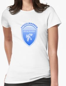 Coat of Arms of Svalbard  Womens Fitted T-Shirt