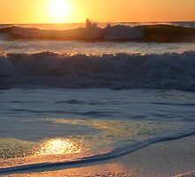 LINCOLN CITY OREGON AT SUNSET by MsLiz